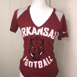 Men's Arkansas Football Nike T-Shirt Size Small